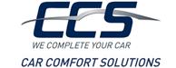 GPS, Carkits, Camera, Car-Hifi, Alarmen, Trekhaken, Bluetooth, Trake & Trace, Cruise Control, Parkeersensoren, Inrichting bestelwagen - Comfort Solutions logo